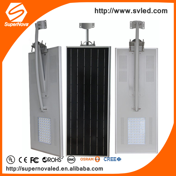 Aluminium Solar Power Street Lighting Outdoor Industrial Public lamp Integrated Solar Street Light