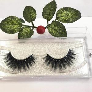 new arrive 5d false eye lashes high quality private label 100% 5D mink eyelashes