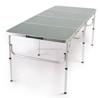 The Original Quatro Four Lightweight Aluminum Portable Folding Table 72 L Or