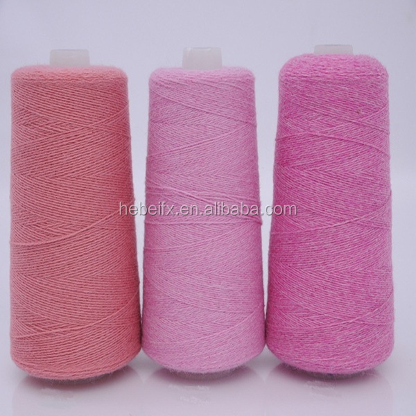 Really beautiful new products possum baby cashmere chenille yarn for socks production
