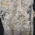 Luxury thickness 100% polyester fabric embroidery lace for wedding dress