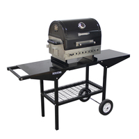 Hot Outdoor Movable Bbq Folding Charcoal Barbecue Stainless Steel Grill