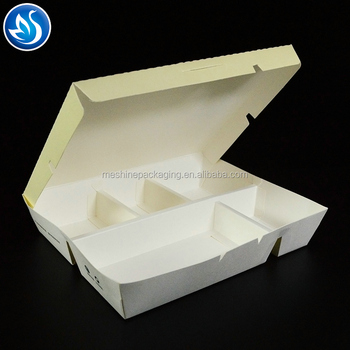Fast Food Box,compartment lunch box.Fast Food Packing Box