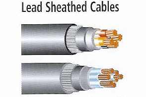 Lead Sheathed Cables