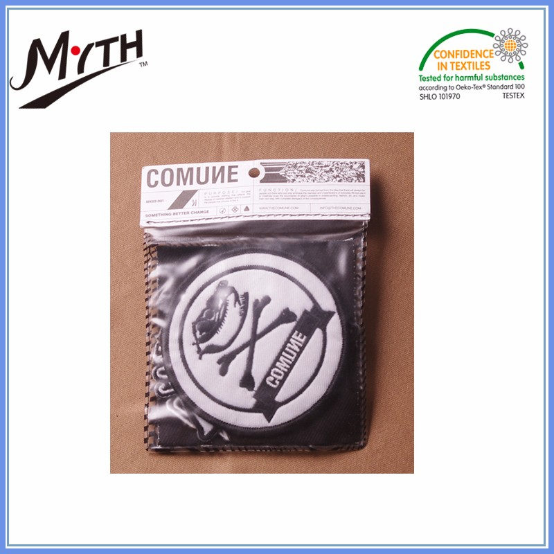 High quality wholesale custom woven badges for clothing