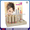 TSD-A553 tester products cosmetic acrylic display, acrylic makeup brush holder, retail store counter top cosmetic acrylic stand