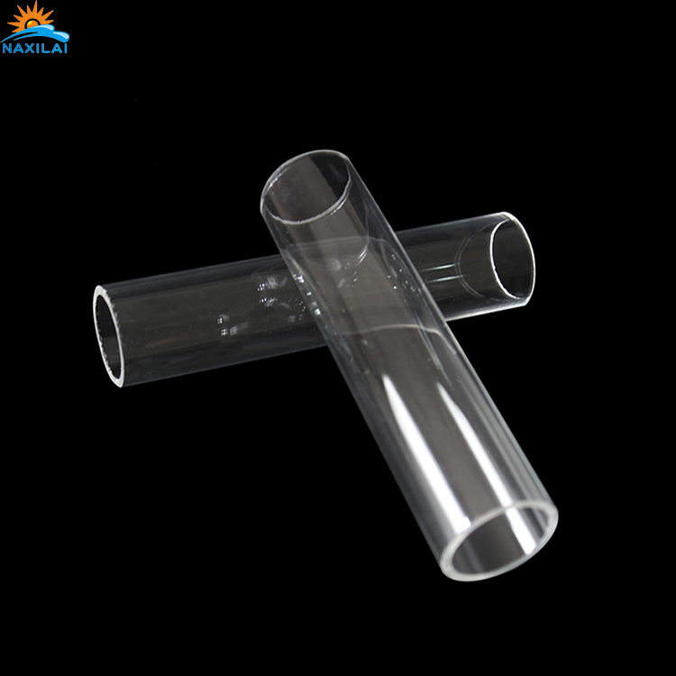 Clear Square Plastic Pipe