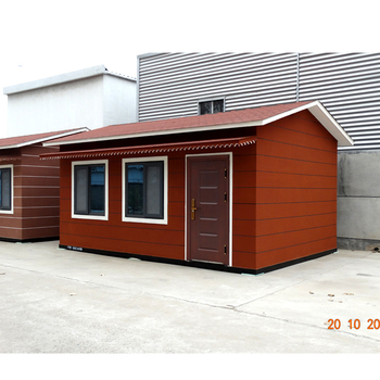 prefabricated luxury light steel villa smart house source supplier