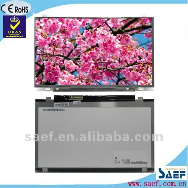 "14.00"" inch TFT LCD panel 1366 x 768 WXGA+ LED Glossy with Tcon industrial"