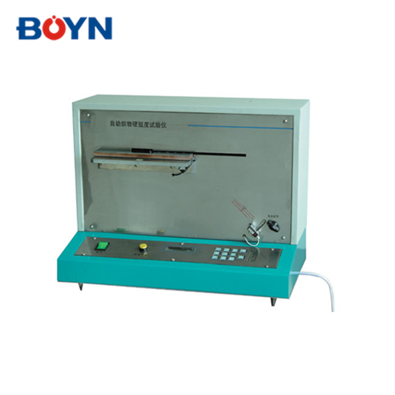 YG207 automatic fabric stiffness tester for laboratory use