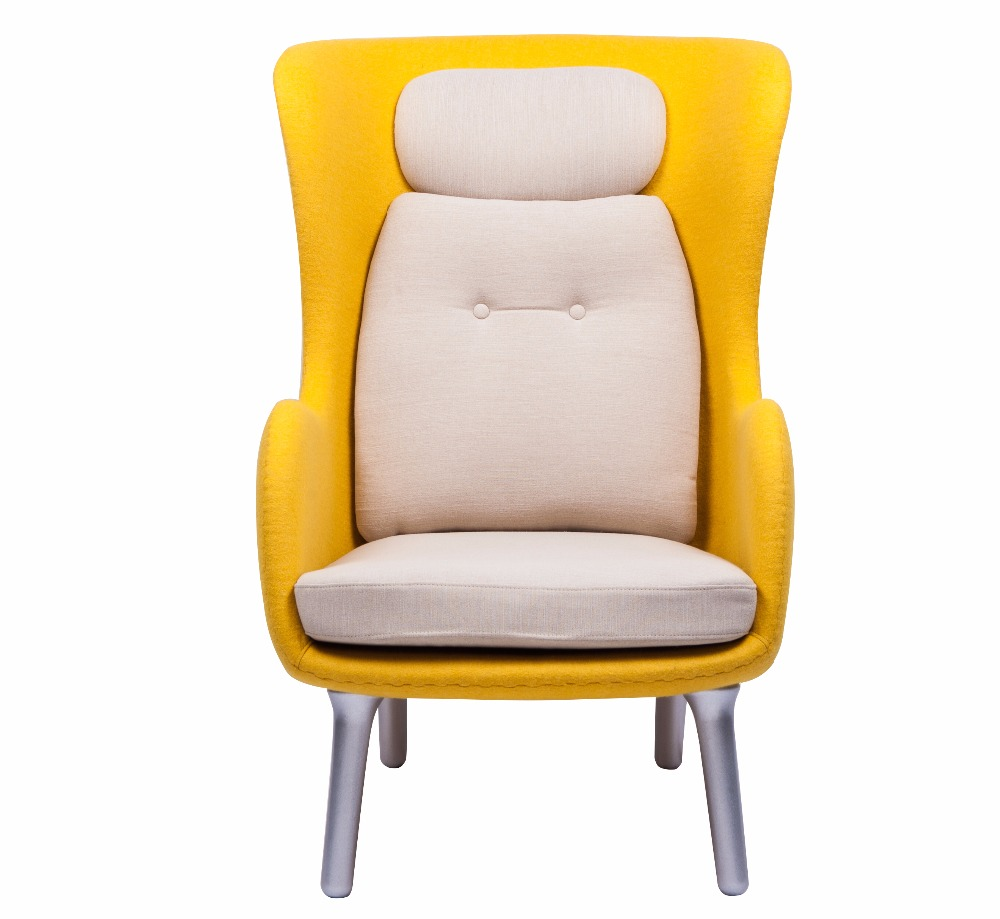 Yellow Ro High Back Lounge Chair With Seat And Cushion Product On Alibaba