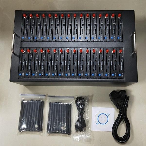 Giá thấp đa sim card modem giao diện USB 32 cổng GSM 3 gam số lượng lớn SMS modem hồ bơi (imei thay đổi được hỗ trợ)