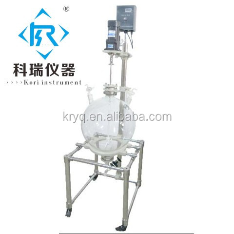 10L Lab Chemical oil water liquid Centrifuge Separator glass liquid extractor