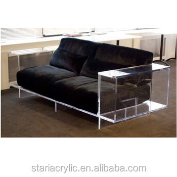 Clear Lucite Sofa Base Acrylic Furniture Legs Base Perspex