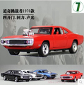1970 Dodge Chargers R T Fast Furious 1 32 Car model Kids Toy Diecast pull back