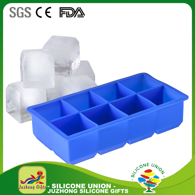 6 Cavity silicone ice lolly mold/ice candy maker/ice cream stick mold