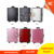 Hot selling combination lock professional rolling cosmetic case with lighted mirror