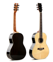 musical instruments 36 inch solid wood acoustic guitar supplier, guitars made in china