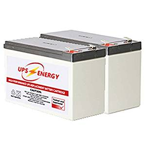 APC RBC 124 Replacement Battery Kit - UPS Energy - (APC RBC124 Compatible)