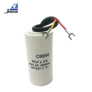 Hot new products 100UF 450V CAPACITOR CBB65 60*130MM CBB60 60*120MM 330V CD60 42*70MM with screw