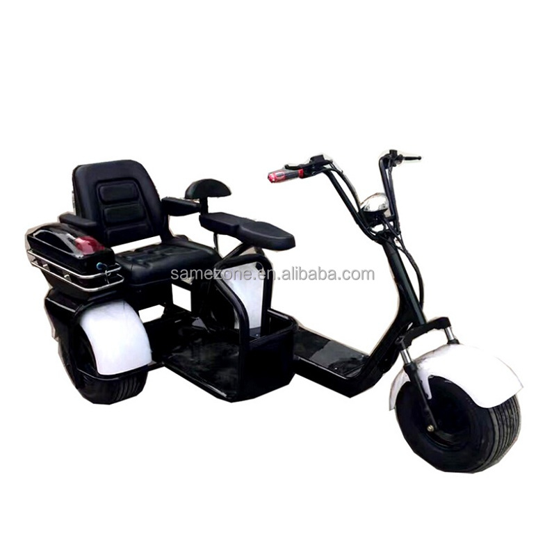 fat tire 3 wheel electric scooter for adults