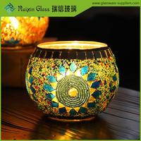 Free sample glass pillar candle holder,pillar candles holder for decoration