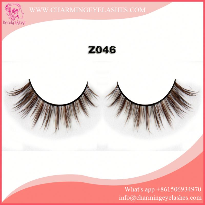 eye lashes false eyelashes with private label