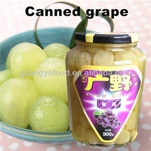 canned food fruit grape in syrup
