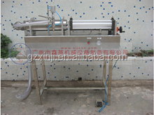 fresh juice, beverage, water bottle semiautomatic filling machine