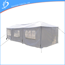 Guangzhou Supplier Metal Frame 3x9 Big White Party Tent For Wedding