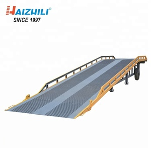 Fixed loading and unloading platform dock leveller / hydraulic ramp with top quality