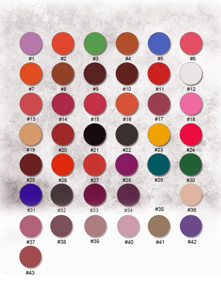 26mm high quality Matte and Shimmer and Glitter single eyeshadow