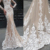 Alibaba Seksi Terompet Putri Duyung Lace Wedding Dress 2019 HA697