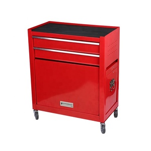 Car Repair Workshop Custom Hand CNC Storage Tool Chest Trolley