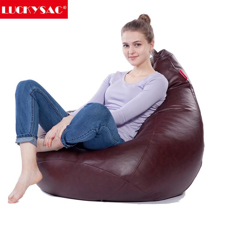 Fat Sack Bean Bag Chair Giant 5 Foam Furniture Sofa
