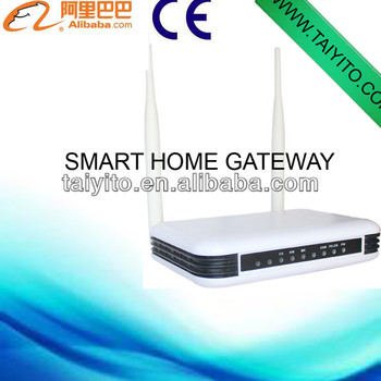 ce wireless zigbee smart home control gateway via smart phone buy smart home control gateway. Black Bedroom Furniture Sets. Home Design Ideas