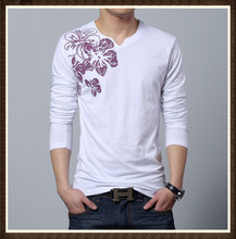 100 cotton blank mens polo shirts with colorful flower printing