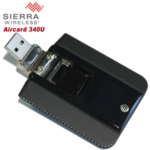 Original Unlock 100Mbps Sierra Wireless Aircard 340U 4G LTE USB WiFi Dongle With LCD Display Support FDD 700 AWS 1700 2100MHz