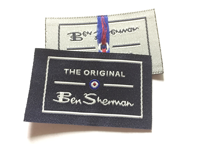 custom woven clothing labels clothing tag manufacturing