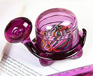 (German Design) Felli -Turtle Clip Holder. Cute/adorable gift, 2 pcs set (Purple/Radiant Orchid)(U453714-2pcs)