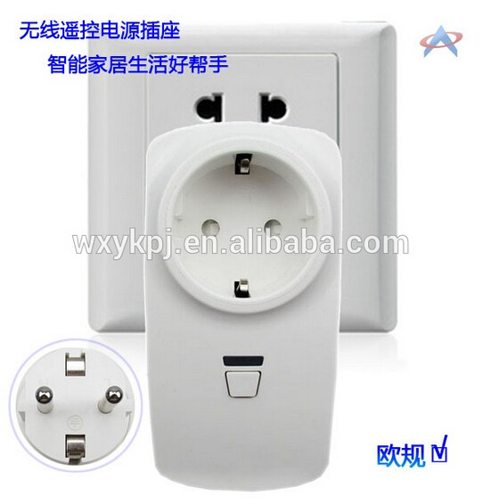 Wireless Rf 315mhz Remote Control Ac Power Outlet Plug Smart ...