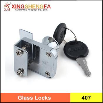 Zinc Alloy Locks for Display cabinet, Sliding Window Locks, Locks for glass  cabinet door, View locks for display cabinet, X sf Product Details from