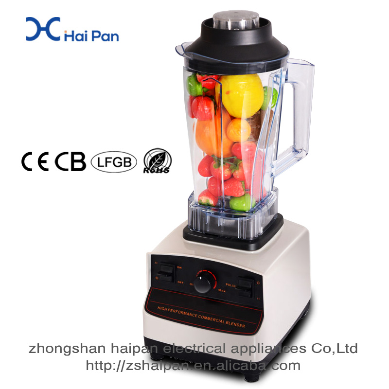 1500W CE high quality work top high power blender cutter blender personal multifunction blender