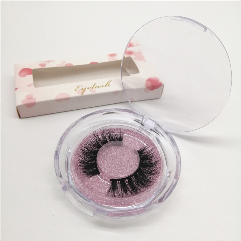 3D Mink Eyelashes Handmade False Soft Eyelashes 3 Pairs/Set фото