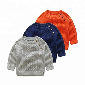 Children's clothing boys knitted pullover jacket 2018 children's sweater spring and autumn knitted sweaters