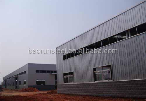 Qingdao Baorun steel structure prefabricated building for warehouse