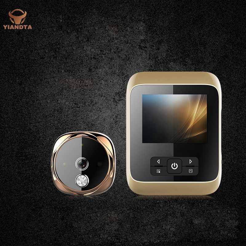 Smart Electronic Cat Eye Wireless Visible Doorbell