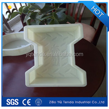 Precise dimension plastic rubber concrete paver molds for sale