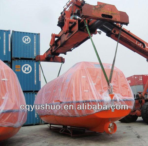 China Marine Ship Boat Solas Lifeboat Enclosed Type