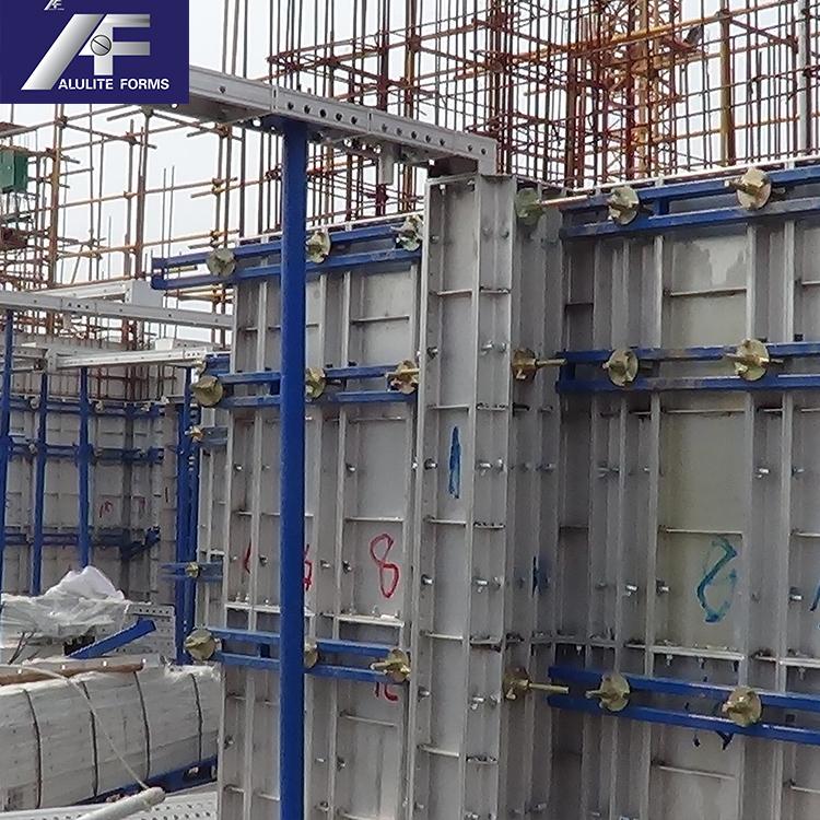 Aluminum Wall Panel Concrete Construction Formwork Concrete Forms For Walls